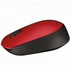 Мышь беспроводная Logitech M171 (910-004641) Red/Black USB - 910-004641