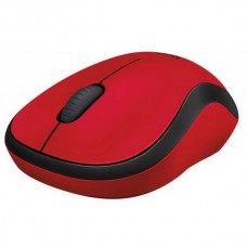 Мышь беспроводная Logitech M220 Silent (910-004880) Red USB - 910-004880