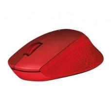 Мышь беспроводная Logitech M330 Silent Plus (910-004911) Red USB - 910-004911