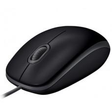 Мышь Logitech B110 Silent (910-005508) Black USB - 910-005508