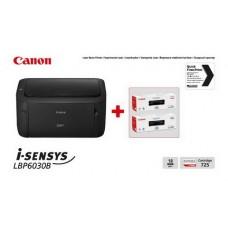 Принтер А4 Canon i-SENSYS LBP6030B (8468B042AA) + 2 картриджа Canon 725 - 8468B042AA