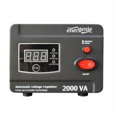 Стабилизатор EnerGenie EG-AVR-D2000-01 2000VA, 2xSchuko