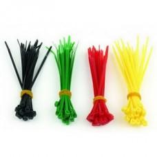 Стяжки Cablexpert NCT-100 (100шт) 4 цвета