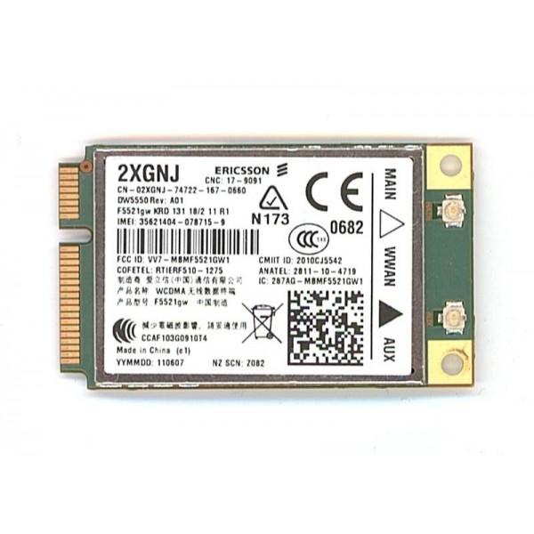 Wi-Fi модуль DELL 3G WWAN DW5550 2XGNJ для ноутбука, б/у