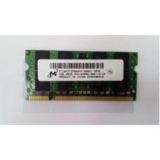 Пам'ять Micron SODIMM DDR2 2Gb 800MHz 6400s CL6 ,для ноутбука, б/у