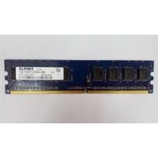 Пам'ять ELPIDA 1GB 1Rx8 PC2-6400U-666, б/у