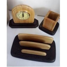"""Настольный набор Wooden """"Desk Set"""" 6 предметов, деревянный"""