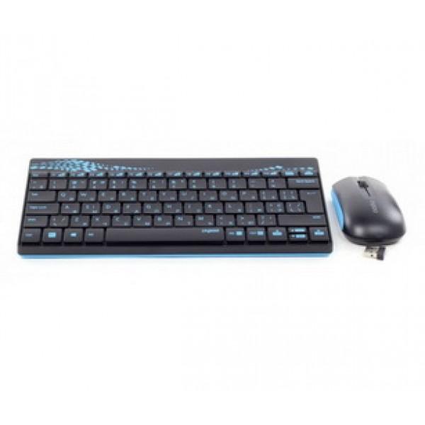 Комплект бездротовий Rapoo 8000 Wireless Blue