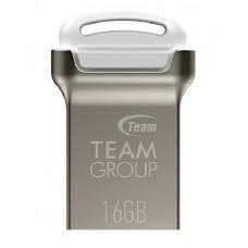 USB 16GB Team C161 White (TC16116GW01) - TC16116GW01