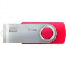 USB3.0 64GB GOODRAM Twister Red (UTS3-0640R0R11) - UTS3-0640R0R11