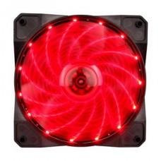 Вентилятор 1stPlayer A1-15LED Red bulk; 120х120х25мм, 4-pin