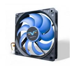 Вентилятор Frime (FBF120HB3) 120x120x25мм, 3Pin, Black/Blue - FBF120HB3