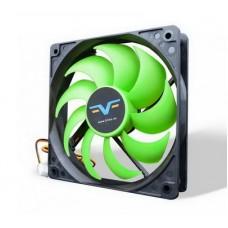 Вентилятор Frime (FGF120HB3) 120x120x25мм, 3Pin, Black/Green - FGF120HB3