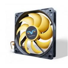 Вентилятор Frime (FYF120HB3) 120x120x25мм, 3Pin, Black/Yellow - FYF120HB3