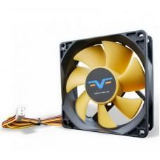 Вентилятор Frime (FYF80HB3) 80x80x25мм, 3Pin, Black/Yellow - FYF80HB3
