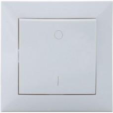 Выключатель SVEN Comfort SE-60013 одинарный двухполюсный скрытого типа белый UAH