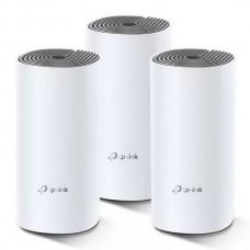 WiFi Mesh система TP-Link Deco E4 3-pack (AC1200, 2xFE, 3шт, MESH)