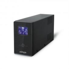 ИБП EnerGenie EG-UPS-031650VA, Line Int., AVR ,2xIEC+1xSchuko, LCD - EG-UPS-031