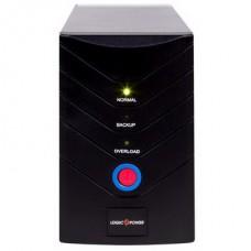 ИБП LogicPower LP-1400VA, Lin.int., AVR, 2 x евро, металл - LP8294