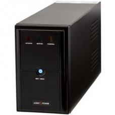 ИБП LogicPower LPM-625VA, Lin.int.,AVR, 2 x евро, металл - LP4976