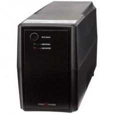 ИБП LogicPower LPM-625VA-P,Lin.int.,AVR, 2 x евро, пластик - LP3336