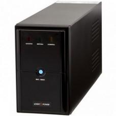 ИБП LogicPower LPM-U1250VA, Lin.int., AVR, 3 x евро, USB, металл - LP4986