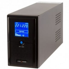 ИБП LogicPower LPM-UL825VA, Lin.int., AVR, 2 x евро, USB, LCD, металл - LP4981