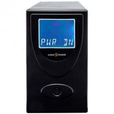 ИБП LogicPower UL650VA, Lin.int., AVR, 2 x евро, USB, LCD, металл - LP1454