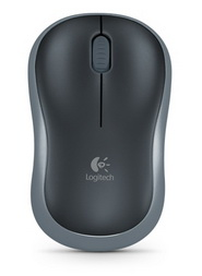 Мышь беспроводная Logitech M185 (910-002238) Grey USB - 910-002238
