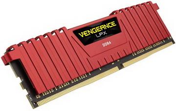 DDR4 2x16GB/2400 Corsair Vengeance LPX Red (CMK32GX4M2A2400C14R)