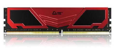 DDR4 8GB/2400 Team Elite Plus Red (TPRD48G2400HC1601)