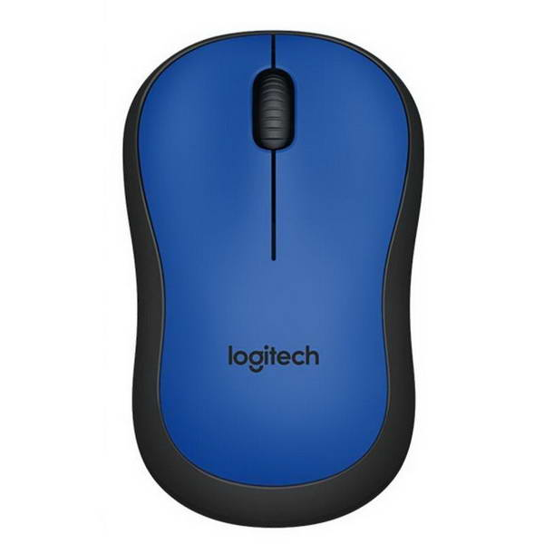 Мышь беспроводная Logitech M220 Silent (910-004879) Blue USB - 910-004879