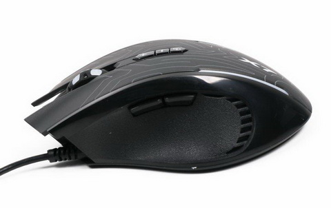 Мышь A4Tech X87 Oscar Neon Black USB - X87 (Black)