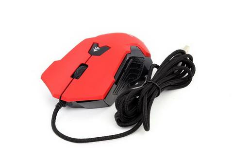 Мышь Frime Raptor Red, USB (FMC1820) - FMC1820