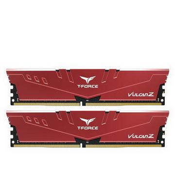DDR4 2x4GB/2666 Team T-Force Vulcan Z Red (TLZRD48G2666HC18HDC01)