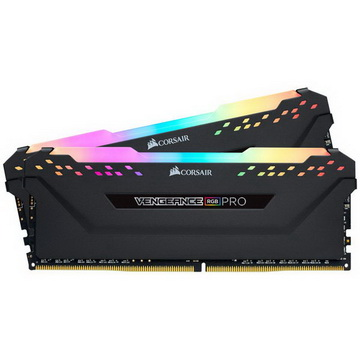 DDR4 2x8GB/3600 Corsair Vengeance RGB Pro Black (CMW16GX4M2C3600C18)