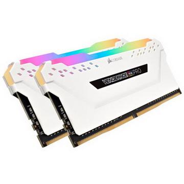 DDR4 2x8GB/3200 Corsair Vengeance RGB Pro White (CMW16GX4M2C3200C16W)