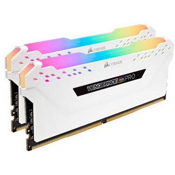 DDR4 2x8GB/3000 Corsair Vengeance RGB Pro White (CMW16GX4M2C3000C15W) - CMW16GX4M2C3000C15W
