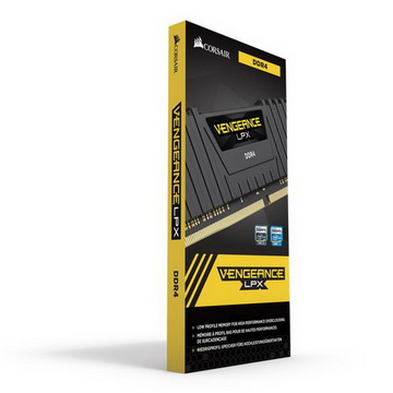 DDR4 16GB/2400 Corsair Vengeance LPX Black (CMK16GX4M1A2400C16) - CMK16GX4M1A2400C16