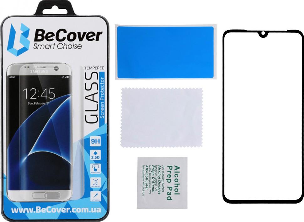 Защитное стекло BeCover 3D Curved Edge для Xiaomi Mi 10 Black (704828)