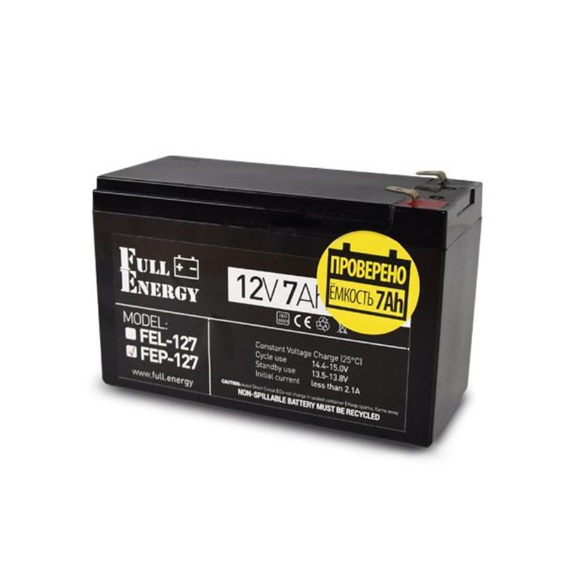 Аккумуляторная батарея Full Energy FEP-127 12V 7AH (FEP-127) AGM