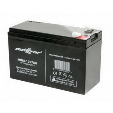 Аккумуляторная батарея Maxxter 12V 7AH (MBAT-12V7AH) AGM