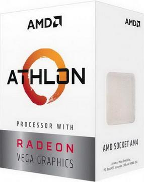 AMD Athlon 3000G 3.5GHz (4MB 35W AM4) Box (YD3000C6FHBOX)