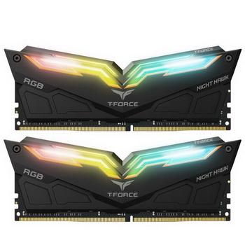 DDR4 2x16GB/3200 Team T-Force Night Hawk RGB Black (TF1D432G3200HC16CDC01)