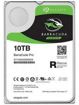 HDD SATA 10.0TB Seagate Barracuda Pro 7200rpm 256MB (ST10000DM0004) - ST10000DM0004