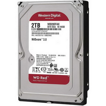 HDD SATA 2.0TB WD Red NAS 5400rpm 256MB (WD20EFAX)
