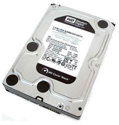 HDD SATA  500GB WD Caviar Black 7200rpm 32MB (WD5001AALS) Refurbished