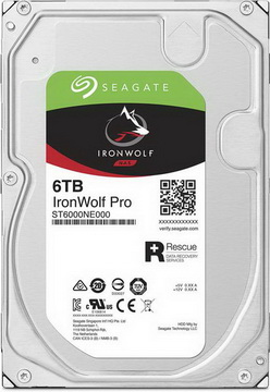 HDD SATA 6.0TB Seagate IronWolf Pro NAS 7200rpm 256MB (ST6000NE000)