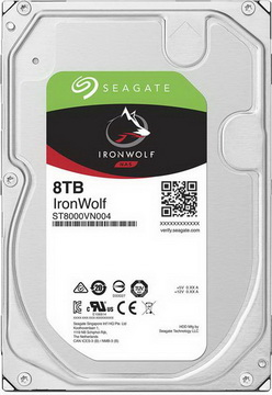 HDD SATA 8.0TB Seagate IronWolf NAS 7200rpm 256MB (ST8000VN004)