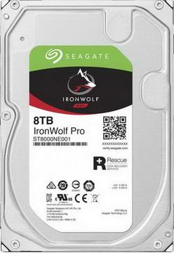 HDD SATA 8.0TB Seagate IronWolf Pro NAS 7200rpm 256MB (ST8000NE001) - ST8000NE001